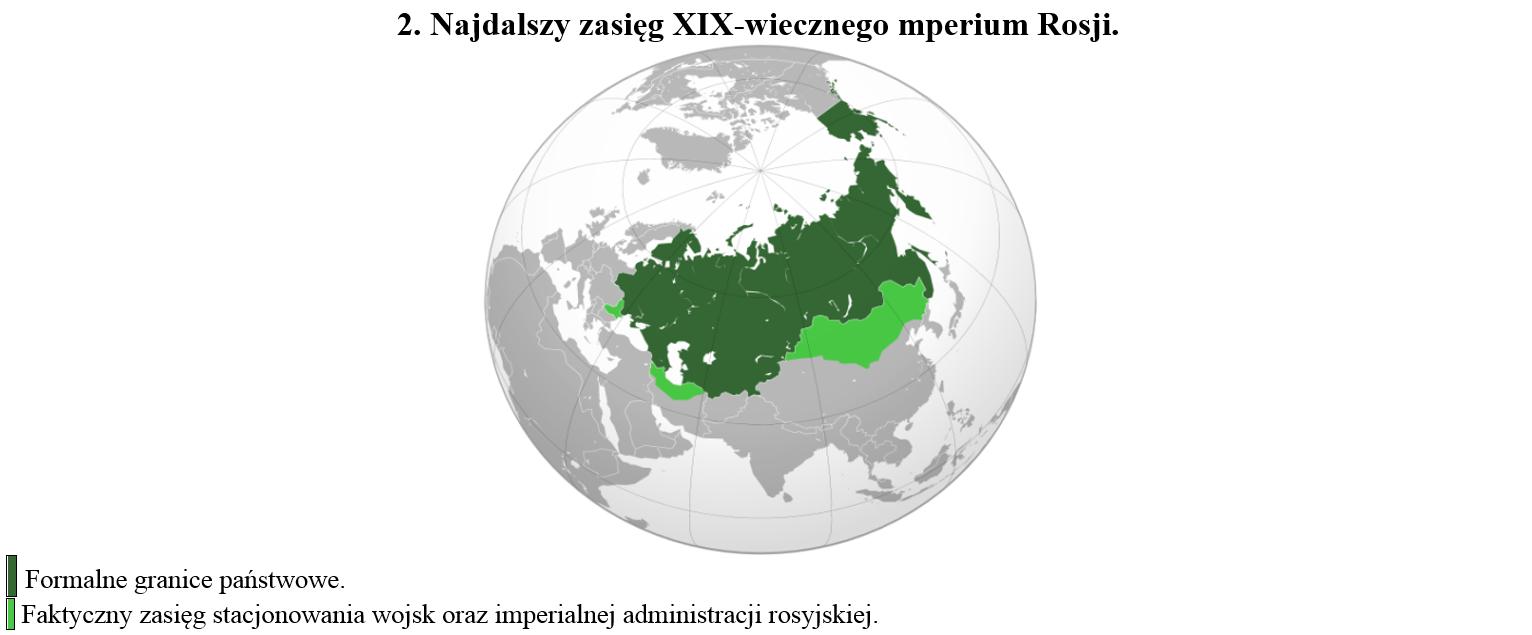 Zasieg Imperium Rosyjskiego XIX