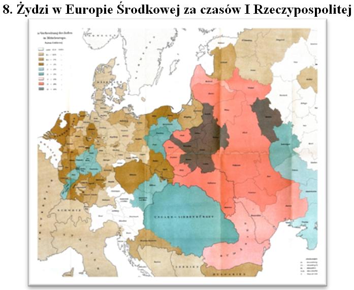 Zydzi w Europie Srodkowej