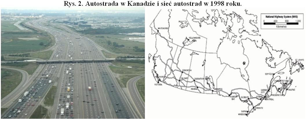 Autostrady w Kanadzie