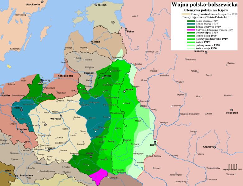 Wojna Polsko-Bolszewicka 1920