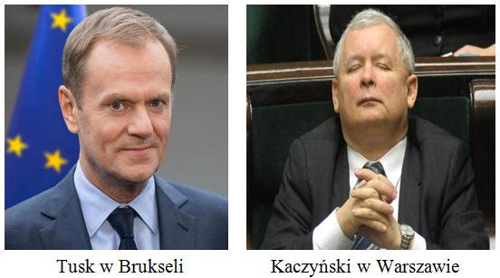 Tusk i Kaczynski