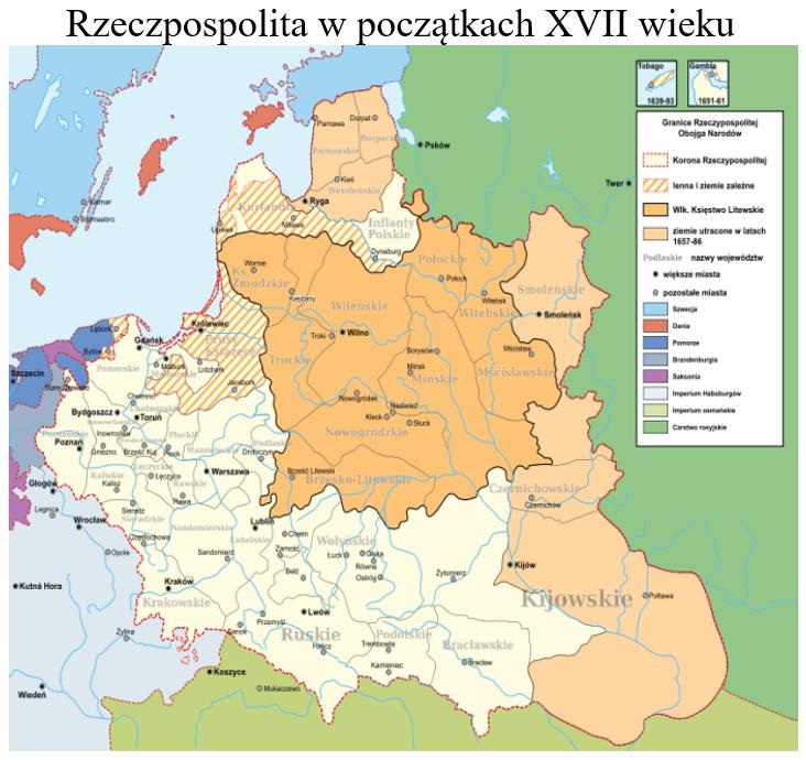 Rzeczpospolita XVIIw
