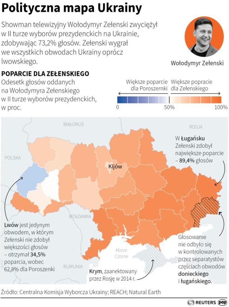 Polityczna Mapa Ukrainy Blog Prof Dr Hab Rafal Krawczyk